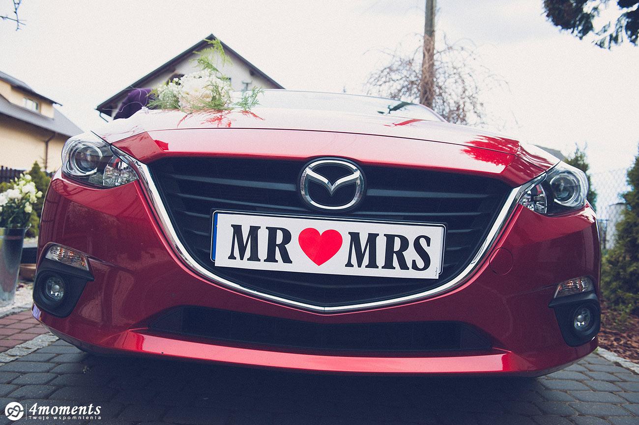 samochód do ślubu toruń