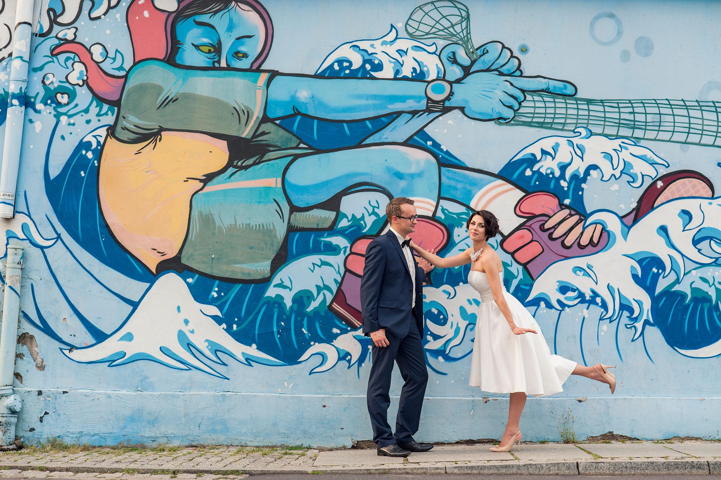 5 miejsc na wymarzoną ślubną sesję plenerową | Miejsce 4 Toruńska starówka